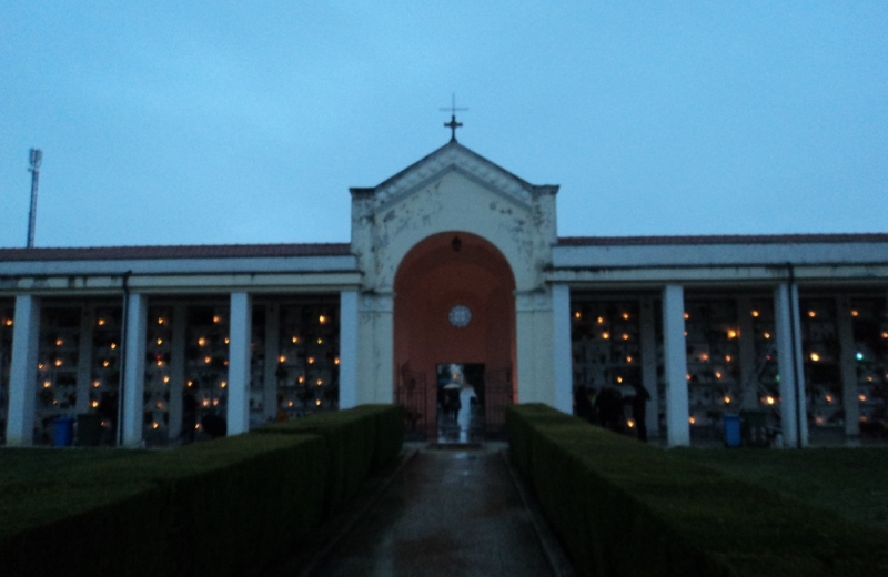 Il cimitero di Sant'Egidio alla Vibrata