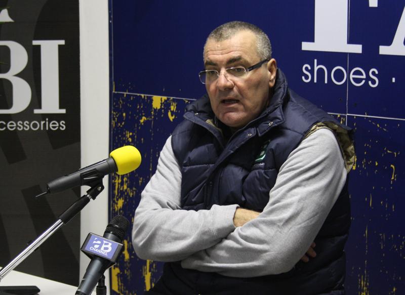 l'allenatore della Benetton Treviso, Jasmin Repesa