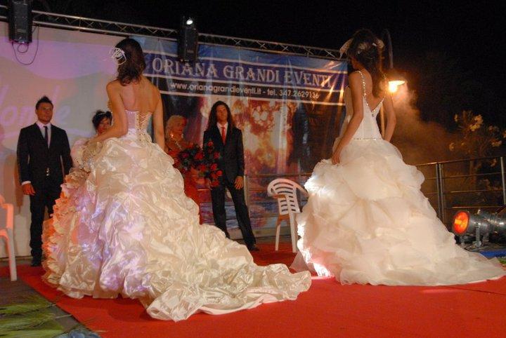 Vestiti da sposa creati da Oriana Simonetti