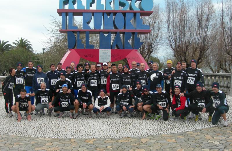Gli atleti del Porto 85 Polisportiva