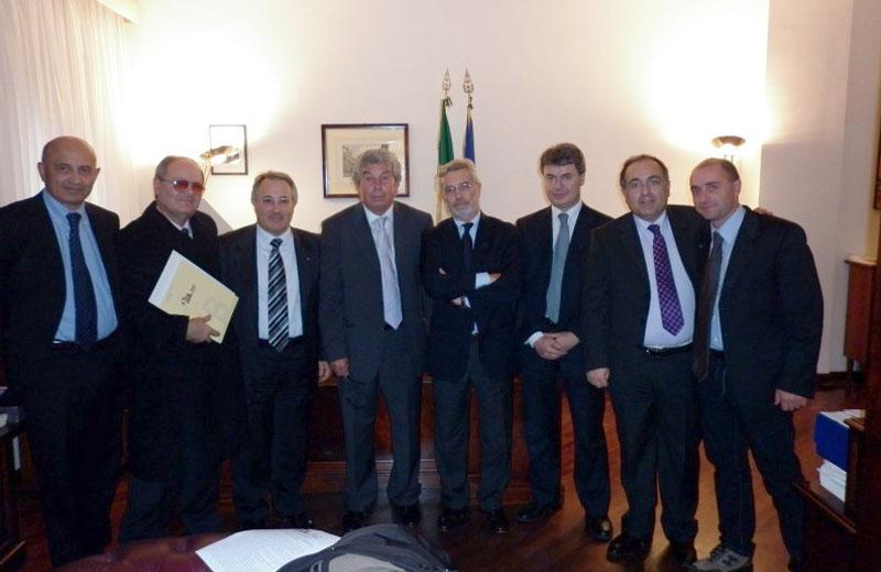 Direttiva Bolkestein, l'incontro al Senato. Tra gli altri, Ciccanti, Giuseppe Ricci, Luciano Agostini, Domenico Ricci