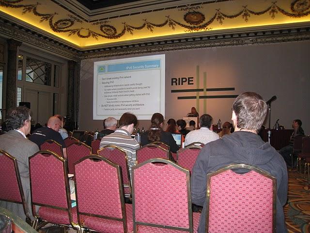 Ripe61, presentazione su sicurezza di Ipv6