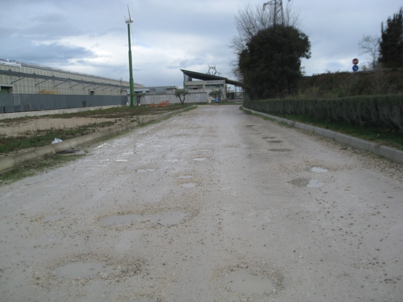 La strada groviera