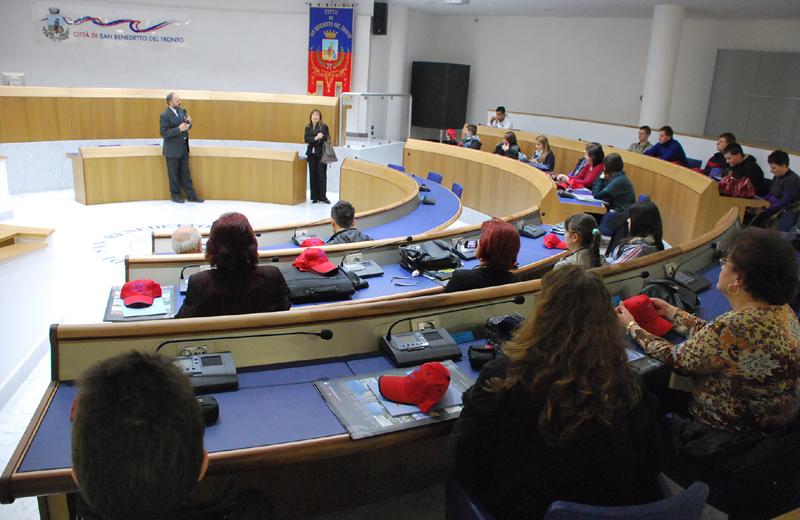 Incontro tra gli studenti e il sindaco Gaspari