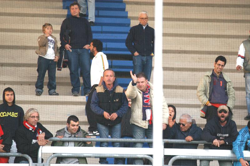 Per i tifosi della Samb è un momento duro (foto Troiani)
