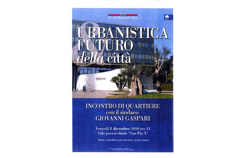I manifesti degli incontri pubblici sui temi urbanistici