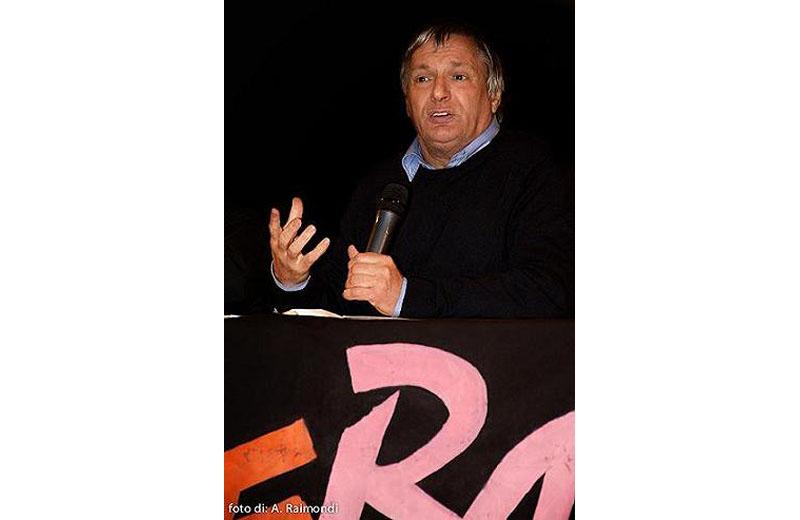 Don Ciotti durante il suo incontro ascolano