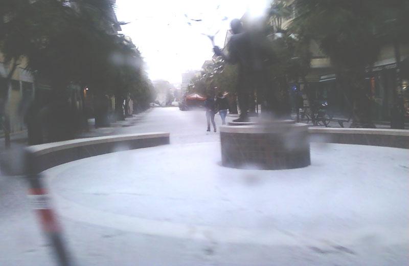 Neve al corso di San Benedetto, 14 dicembre 2010, ore 15:30