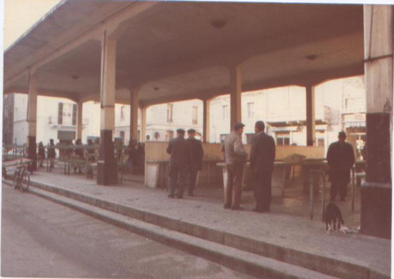 Una foto d'epoca del Mercato ortofrutticolo di Grottammare
