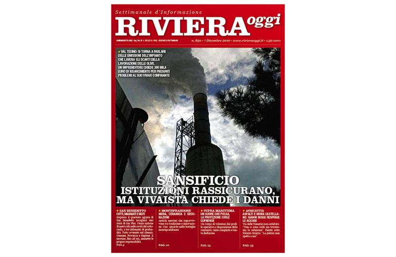 Riviera Oggi numero 850, la copertina per Grottammare
