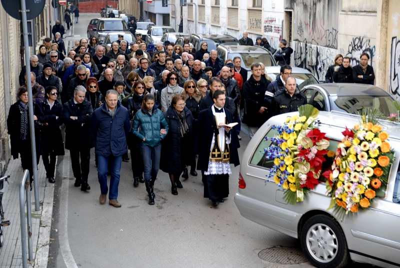 I funerali di Dionisi (foto Pierdomenico Braccetti)