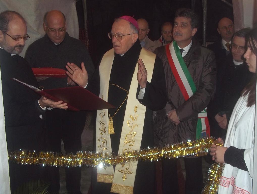 Sant'Agostino, la benedizione del Vescovo