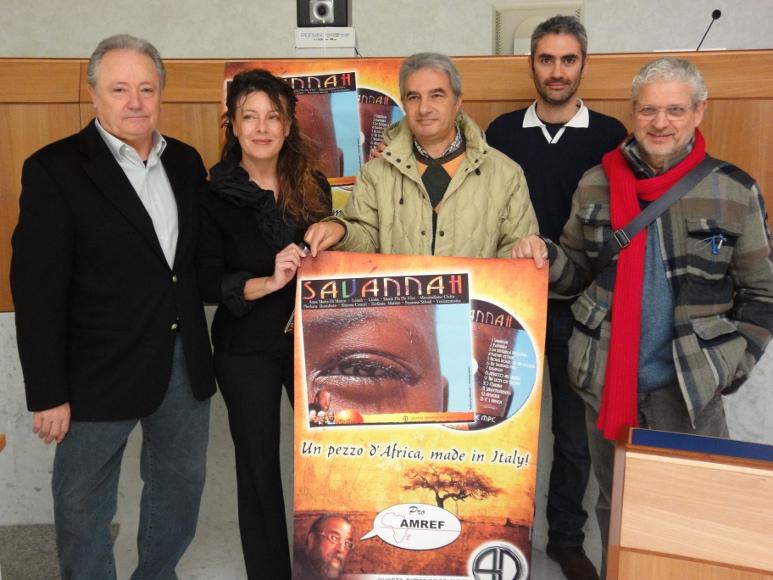 Il gruppo Quarta Dimensione con la fotografa Raffaella Milandri