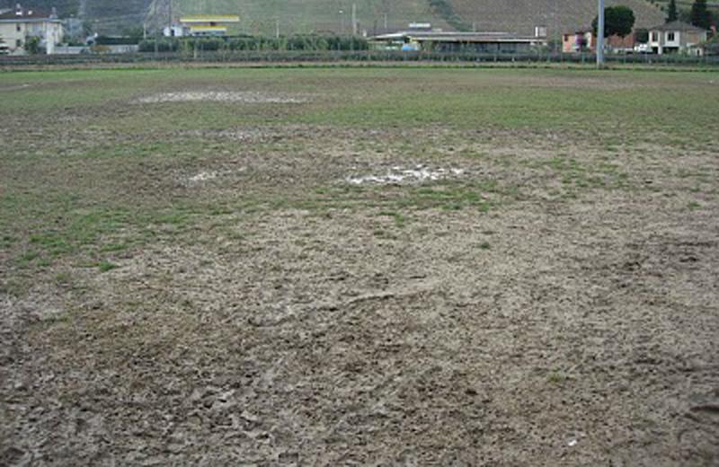 Il campo sportivo di Villa Rosa