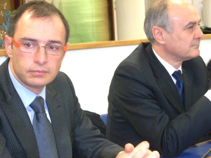 Bruno Gabrielli e Remigio Ceroni