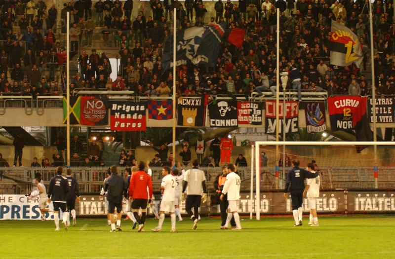 Samb-Miglianico 1-0, finalmente la Curva Nord può festeggiare: è la prima vittoria nel Riviera rinnovato (foto Troiani)