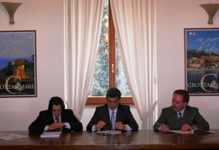 Enrico Piegallini, Luigi Merli, Sergio Maria Remoli
