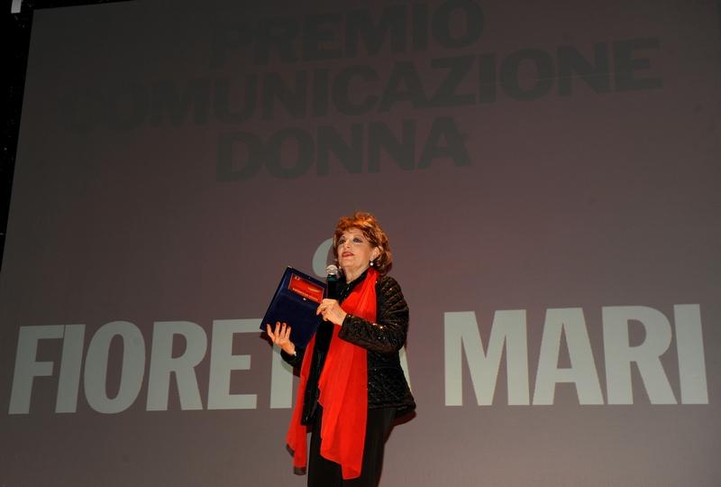 Fioretta Mari è stata presentatrice della serata conclusiva