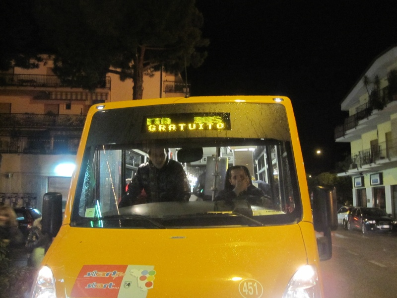 Fochere 2010. Il bus gratuito per le fochere tour