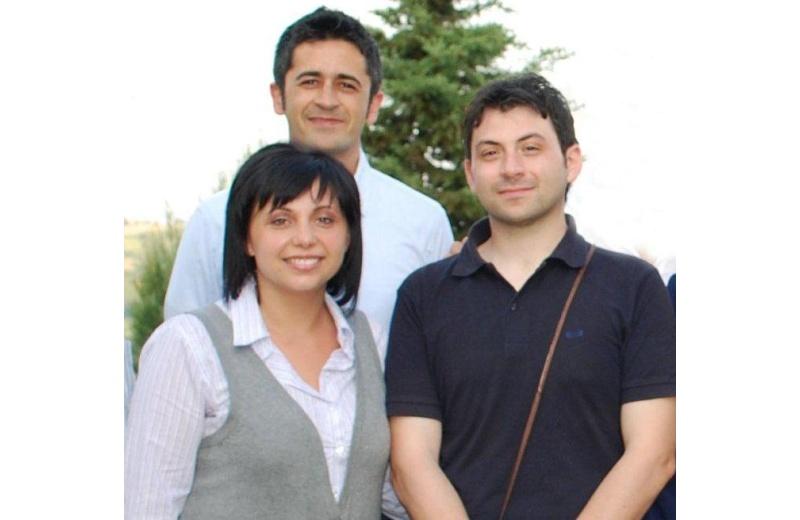 In alto a sinistra Marco Del Prete, Cristina Parigiani e Marco Marconi