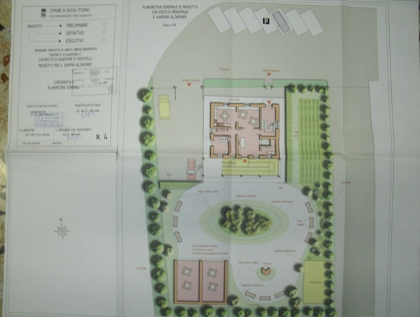 Il nuovo centro di Alzheimer presso l'ex casa cantoniera