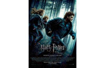 La locandina dell'episodio della saga di Harry Potter