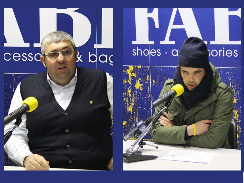 L'allenatore Stefano Pillastrini e il Gm Gianmaria Vacirca