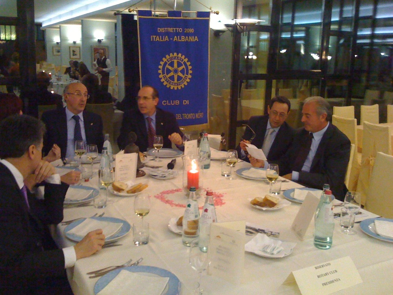 Premio Olivieri 2010. Serata promossa dal Rotary Club