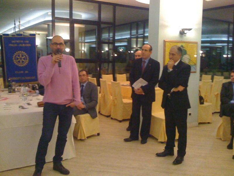 Premio Olivieri. Intervento del finalista della scorsa edizione, Pier Paolo Flammini