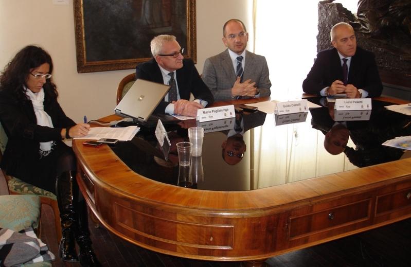 Presentazione del progetto Fabriano ed Ascoli Piceno insieme per crescere in Europa