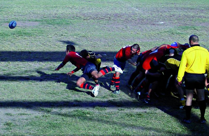 La Rugby Samb di Serie C in azione