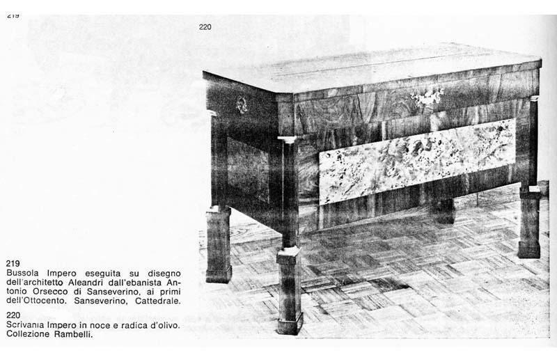 La scrivania