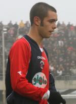 Vittorio Caselli con la maglia della Samb con la quale fece 8 presenze in C1