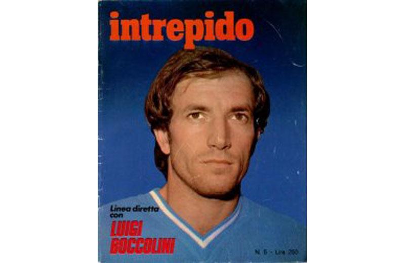 Luigi Boccolini in una pagina del settimanale