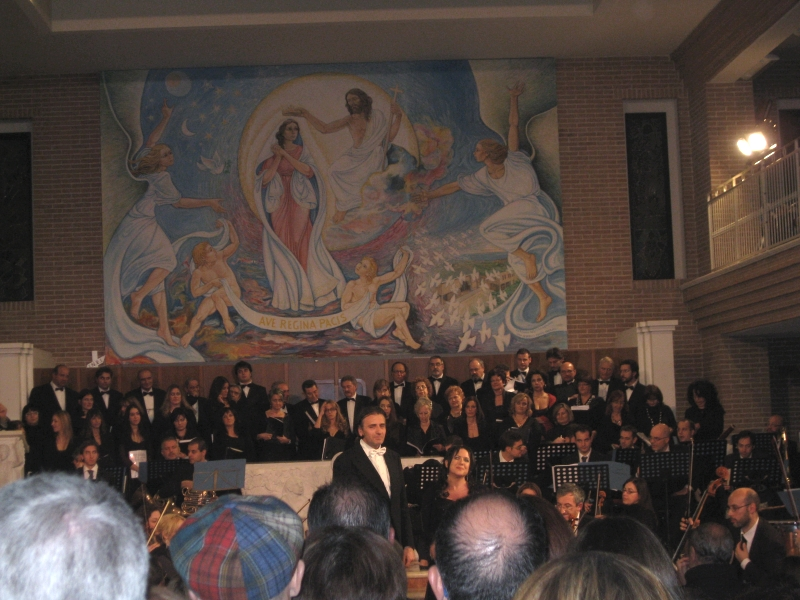 Concerto lirico nella Chiesa Regina Pacis
