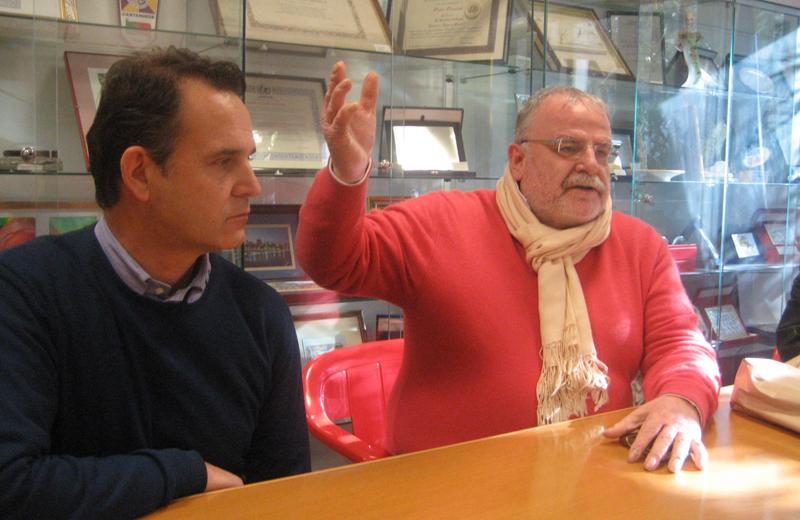 Gaspare Crescenzi e Emidio Girolami del Comitato Prg a Crescita Zero