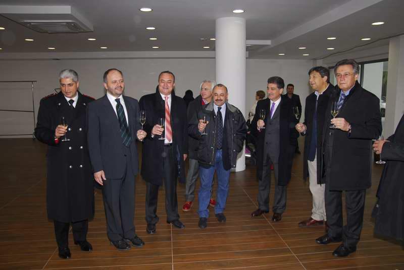 8 dicembre 2010: inaugurazione della Galleria Calabresi