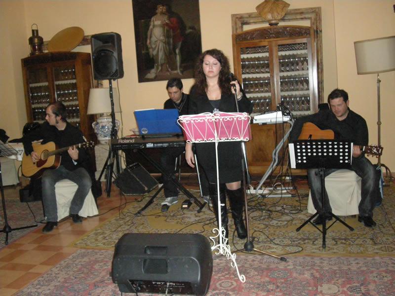 Gli Echo's a Villa Cellini