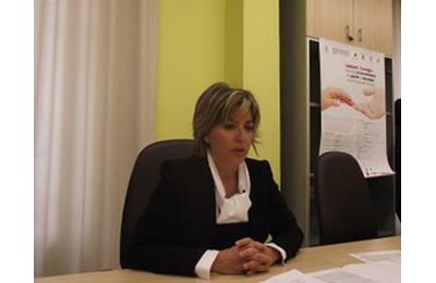 L'assessore provinciale al Lavoro e Formazione Eva Guardiani