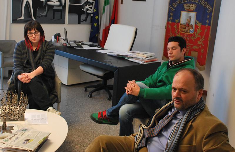 Roberta Peci incontra il sindaco Gaspari
