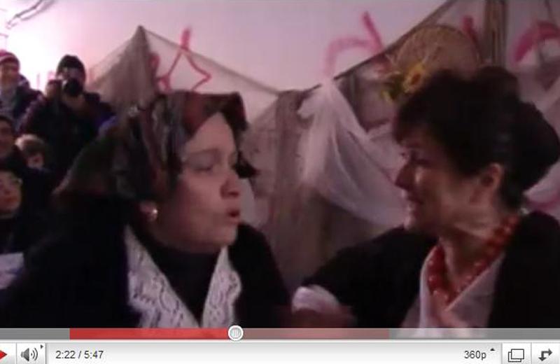 Natale al Borgo 2010: Vittoria Giuliani e Pacifica Romani
