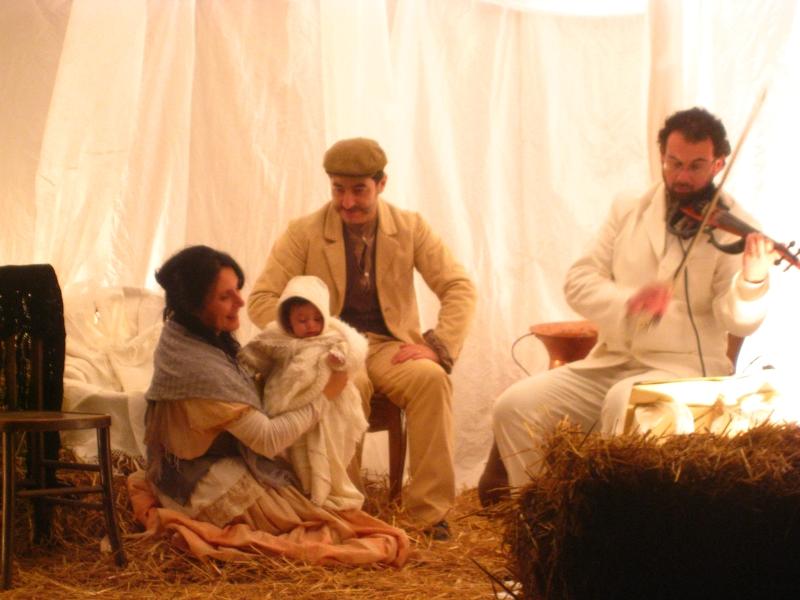 Rappresentazione della Natività in piazza Castello
