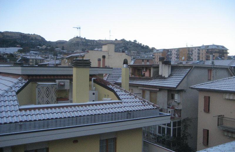 Neve a San Benedetto la mattina 16 dicembre 2010