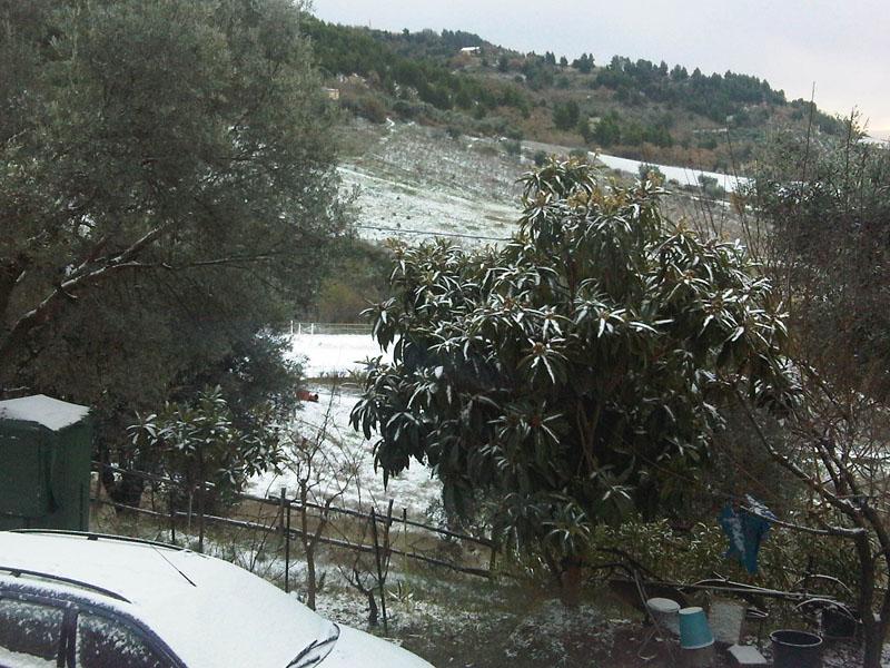 15 dicembre 2010, neve in Valtesino, ore 8