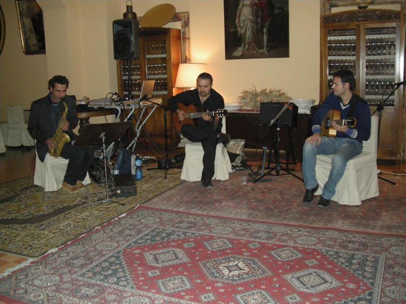 Notti di note, da sinistra Elmar Schafer, Martin Diaz e Danilo Ferretti