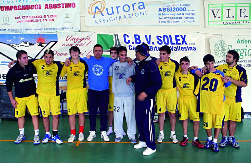Hc Monteprandone under 18 con coach Vecchione