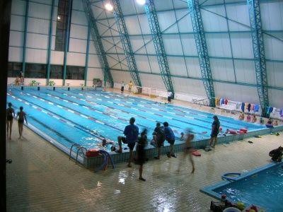 La piscina comunale Gregori