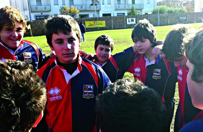 L'under 14 della Rugby Samb