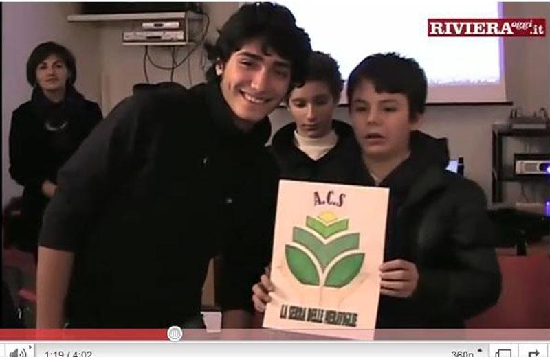 Gli studenti della Sacconi-Manzoni presentano