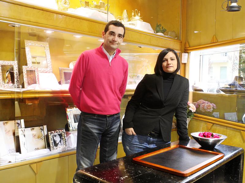 Marco Augusto e Maura Antonelli